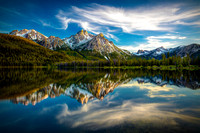 Sawtooth Range Morning Reflection - Idaho