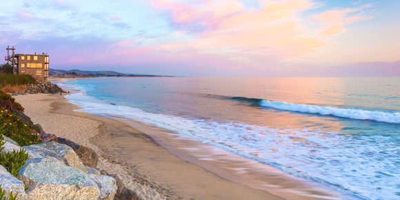 Soothing Beach Sunset, Half Moon Bay