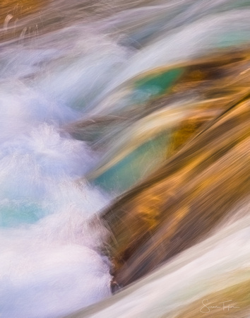 Swiftcurrent Creek, Glacier Abstract