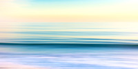 Soothing California Seascape, Abstract