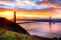 Golden Gate Sunrise Glow