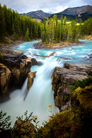 Enchanting Sunwapta Falls, Jasper National Park