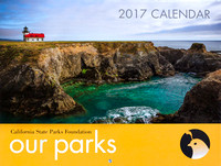 2017 California State Park Calendar Cover Photo, Point Cabrillo Light Station Historic Park