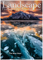 Landscape Photography Magazine, Wall of Fame - February 2016 - Sierra Nevada Spring Sunset, Lake Tahoe