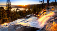 Lake Tahoe Golden Sunrise