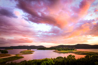 New Melones Lake Spring Sunset, Jamestown