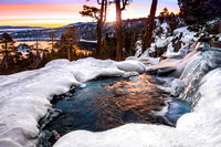 Eagle Falls Winter Sunrise, Lake Tahoe
