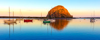 Morro Bay Reflection- Panorama