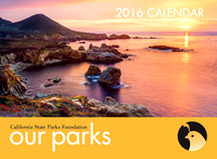 2016 California State Park Calendar Cover Photo -  Garrapata State Park